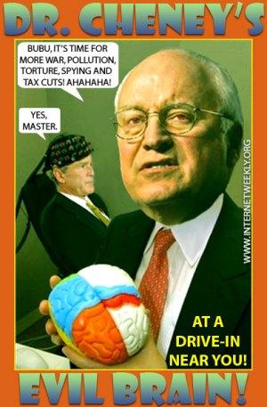 Cheney's evil brain