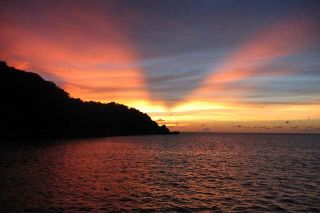 Sunset in Similan Islands