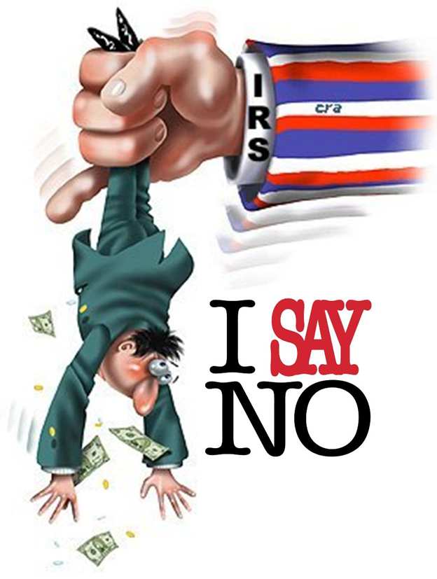 No to Taxes