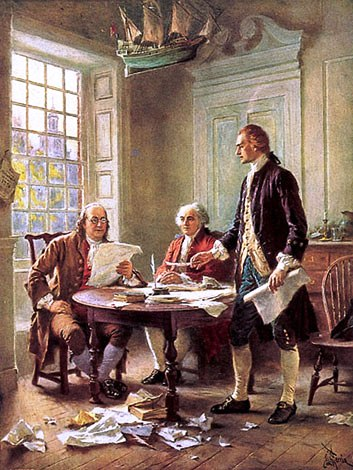 Authors of the declaration of indepencence