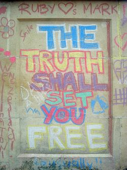 Truth shall set you free