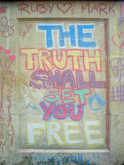 Truth shall set you free