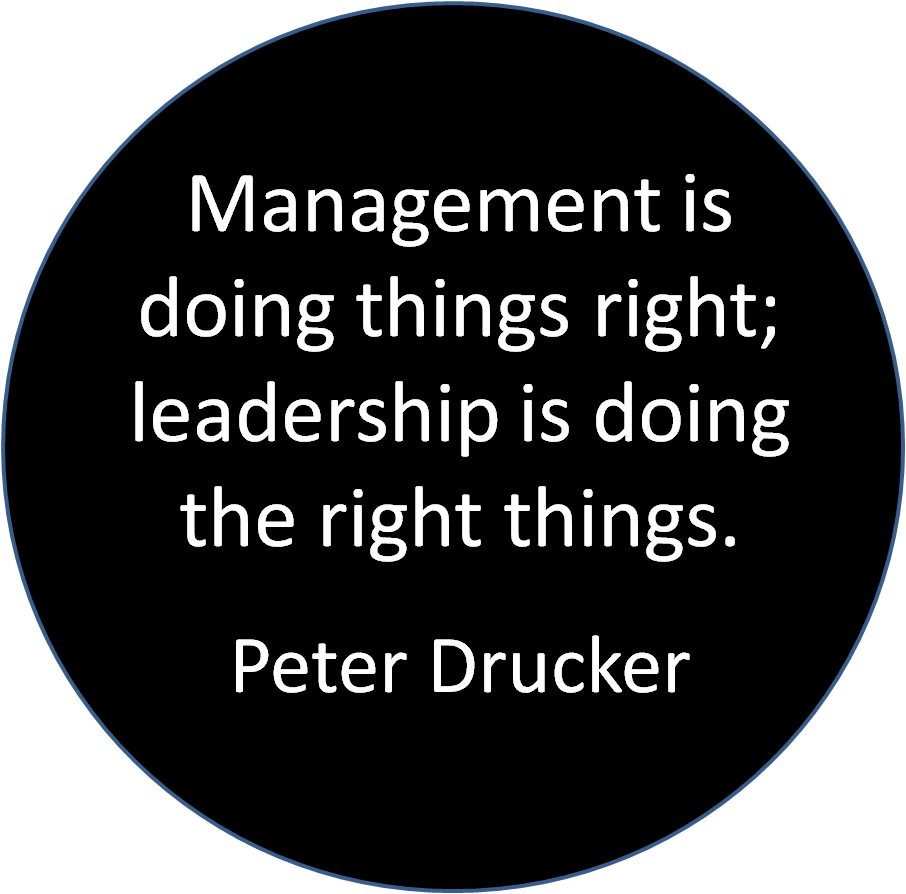 Drucker - Leadership