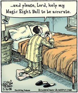Magic 8 Ball Prayers