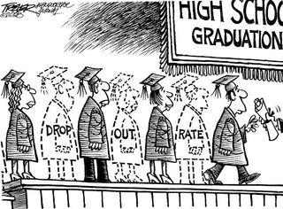Dropout political cartoon