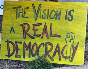 Real democracy vision