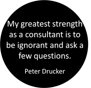 Drucker the consultant