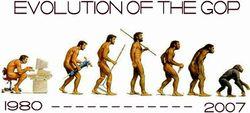 GOP and Evolution