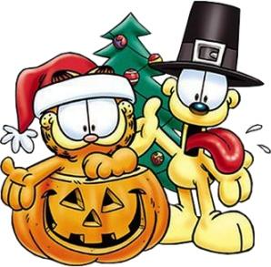 Garfield-Holidays