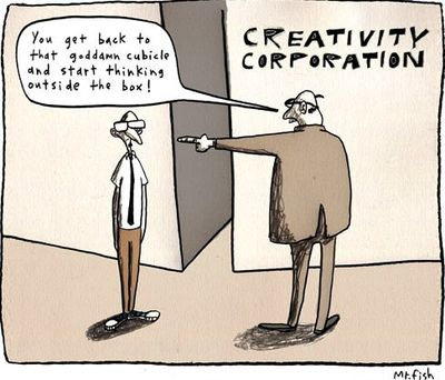 Creativity in the cubicle