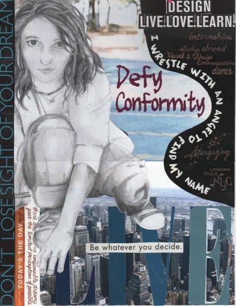 Frame my future - defy conformity