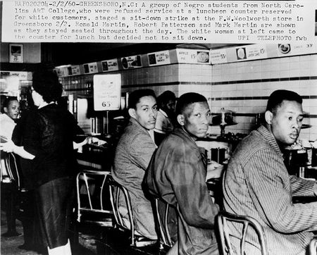 Lunch Counter Protest