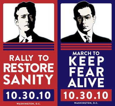 Restore sanity keep fear alive