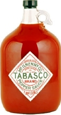 Tabasco Gallon Jugs
