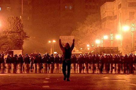 Egyptian defiance