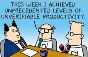 Dilbert productivity