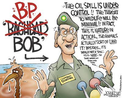 BP Oilspill Spin