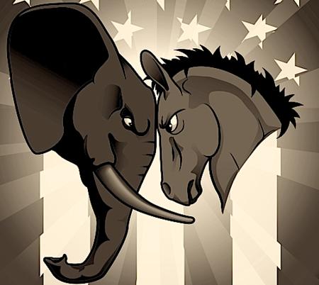 Republican v Democrat