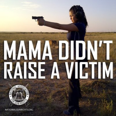 Gun ads targeting women with the promise that gun ownership eliminates victimhood